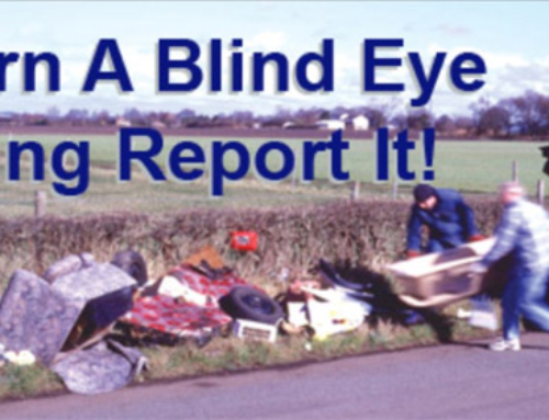 Don't put up or use fly tippers